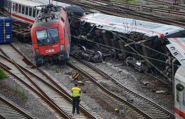 željeznička nesreća u Njemačkoj