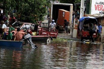 Paragvaj, poplave