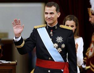 Felipe VI parada