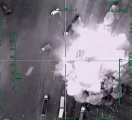 Rusija bombardovanje, Sirija