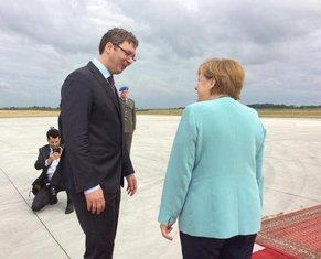 Angela Merkel, Aleksandar Vučić
