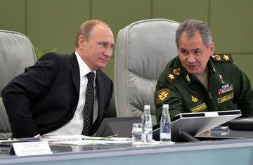 Vladimir Putin, Sergej Šojgu