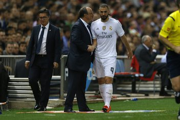Karim Benzema i Rafael Benites