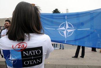 NATO, proslava, Podgorica