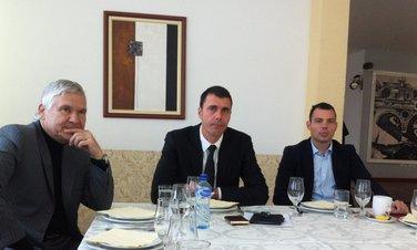 Branislav Ivanović, Igor Vušurović, Marko Begović