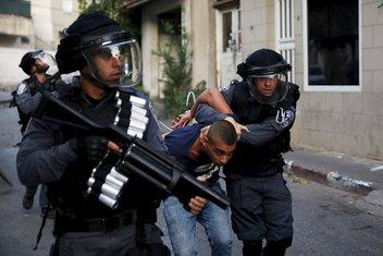 Izrael, hapšenje, Palestinac