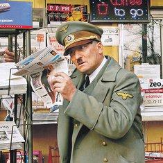Adolf Hitler, komedija
