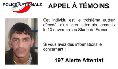 Pariz napad treći napadač