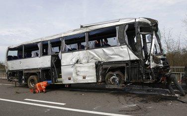 Autobuska nesreća u Belgiji