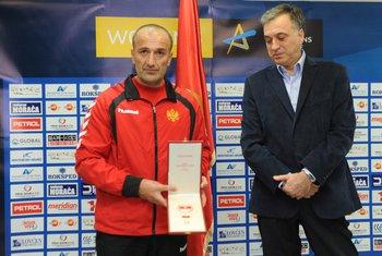 Dragan Adžić i Filip Vujanović