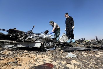 avionska nesreća Egipat