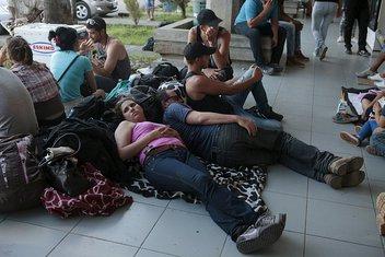 Kubanski migranti, granica Nikaragve i Kostarike