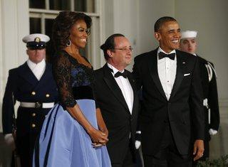 Mišel Obama, Fransoa Oland, Barak Obama