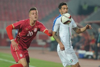 Srbija - Italija mladi
