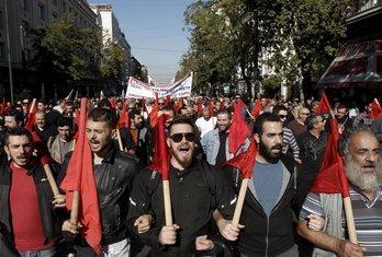 Atina štrajk