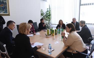 Sa sastanka sa američkom ambasadorkom