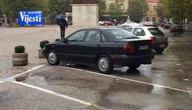 Nikšić parking