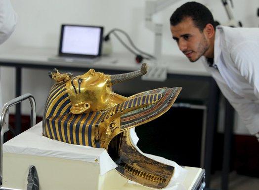 Tutankamon maska