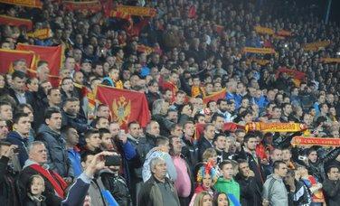 Crna Gora - Švedska navijači