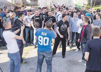 rep battle (novina)