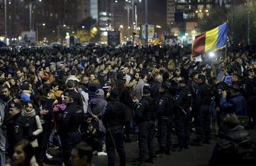 Bukurešt, protest