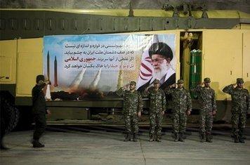 Iran testiranje rakete
