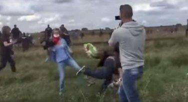 Mađarska migranti snimateljka