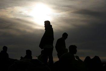 Izbjeglice, migranti, Slovenija , Bregane