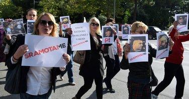 žene DF, protest