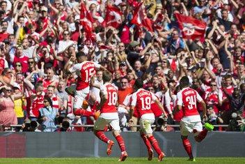 Aleks Okslejd-Čembrlen Arsenal