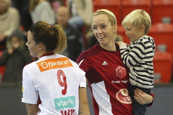 Katrine Lunde i Nora Merk