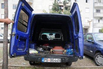 Mladen Jukić, auto