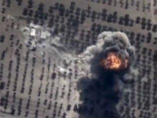Rusija napad, Sirija