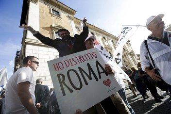 Rim protest