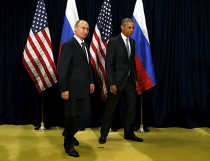 Barak Obama, Vladimir Putin