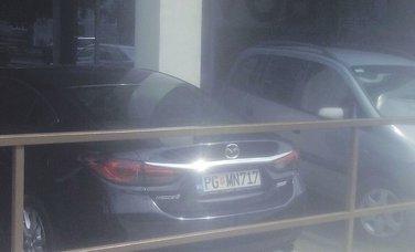 Božidar Vuksanović, službeno auto