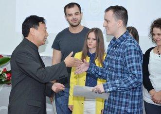 UCG, uručivanje sertifikata, ambasador Kine