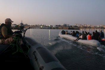 Izbjeglice, Libija