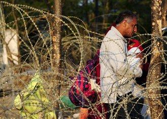 Migranti na grčko-makedonskoj granici