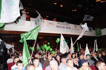 Bošnjačka demokratska zajednica Rožaje skup