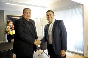 Panos Kamenos, Aleksis Cipras