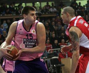 Nikola Jokić i Majk Cirbes