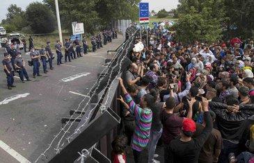 Migranti, Srbija, Mađarska