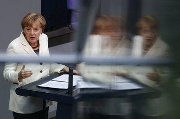 Merkel u parlamentu