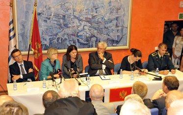 Vesko Garčević, Margaret Uehara, Milica Kovačević, Igor Slobodnik