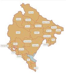 moj grad mapa Crne Gore