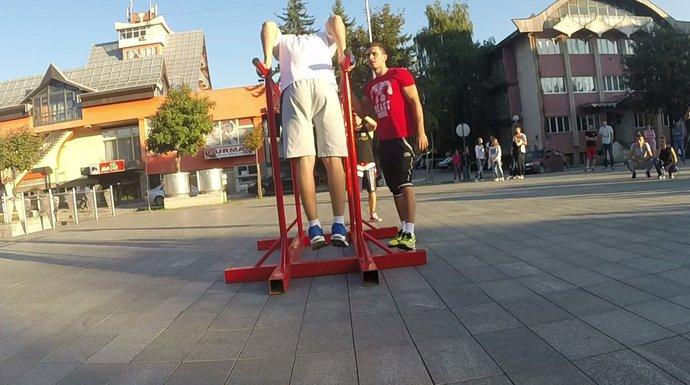 ulični trening