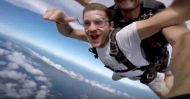 Podgoričanin, skydiving