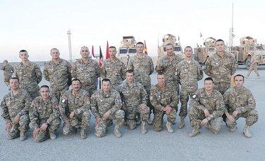 Vojscka Crne Gore u Avganistanu