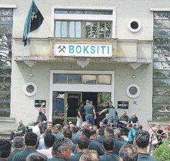 Boksiti, Nikšić